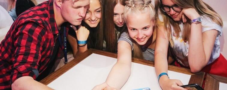 студенты на Стрелецком острове eurostudy