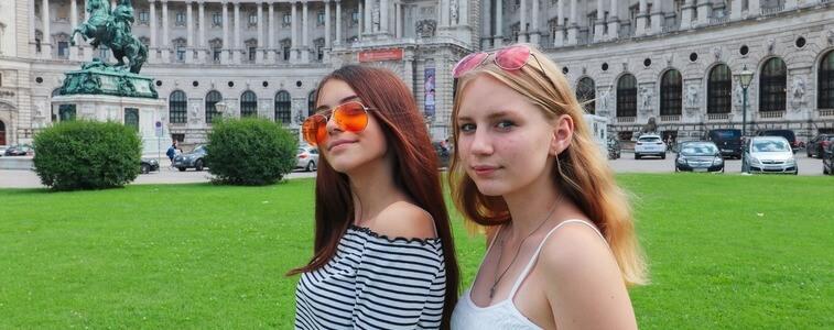 студентки МСМ в Вене eurostudy