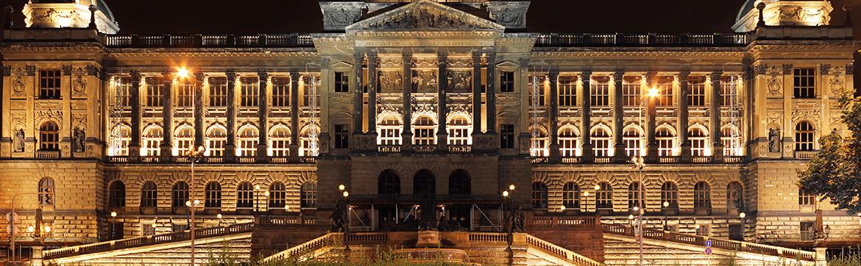 музеи и галереи Праги. eurostudy.cz, на фото национальный музей