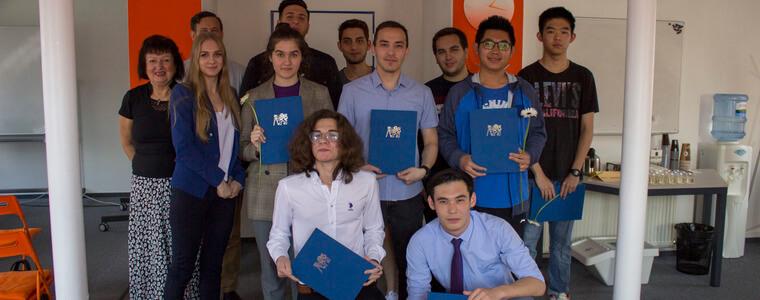 вручение сертификатов чзу eurostudy