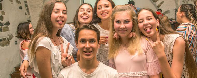 прощальная вечеринка для студентов МСМ eurostudy