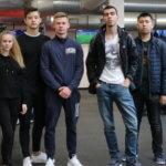 студенты МСМ в Xplore Fitness в Праге eurostudy