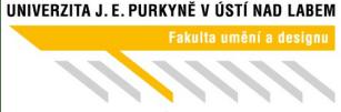 логотип UJEP Факультет искусства и дизайна eurostudy