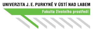 логотип UJEP Факультет наук об окружающей среде eurostudy