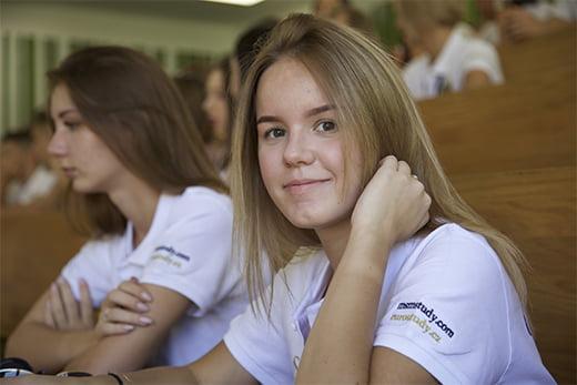 студентка ČVUT eurostudy