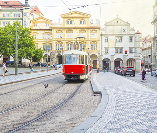 Общественный транспорт в Чехии eurostudy