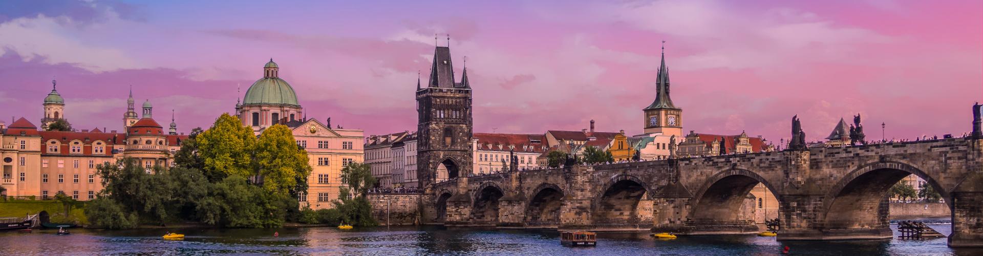 Прага весной eurostudy