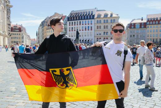 немецкий флаг eurostudy