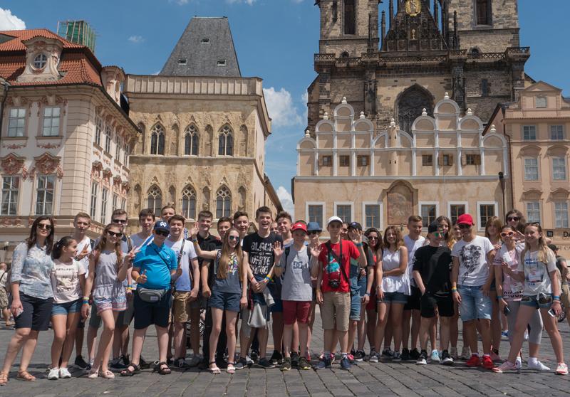 лагерь в Праге eurostudy