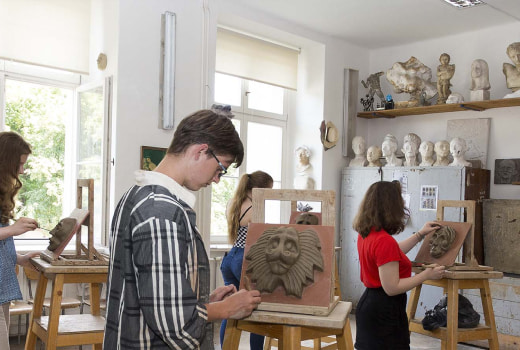 Художественная школа имени Вацлава Холлара «Hollarka» eurostudy
