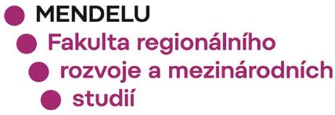 mendelu fakulta regionalniho rozvoje a mezinarodnich studii eurostudy